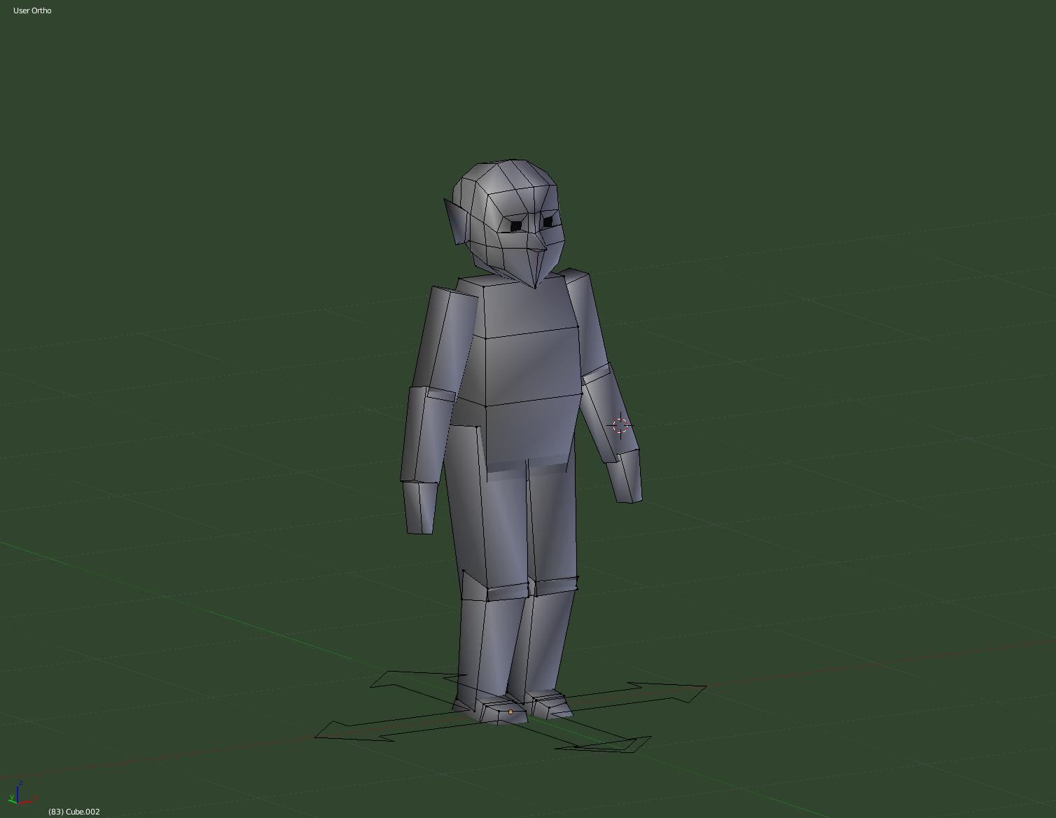 Trying 3D animation in Blender | chrisnicoll net
